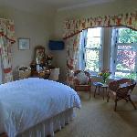En-suite bedroom at The Old Vicarage
