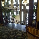 Looking at entrance from lobby