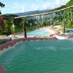 La très originale piscine!