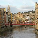 Gerona view of bridge