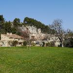 Moulin de la Roque, view from the Garden