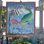 Casey Key Tiki Bar sign