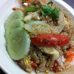 chicken fried rice :D