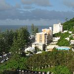 Room view towards Burleigh Heads National Park