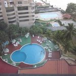 The pool from my room