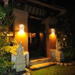Private Villa Entrance