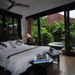 Poolside Tranquillilty Bedroom