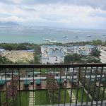 View of Da Dong Hai Beach from room.