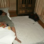 Extra Bed with Torn Bedsheet -  8 Apr'12