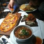 In-room dining - woodoven pizza & assam laksa
