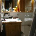 Les fermes de Méribel - Salle de bain