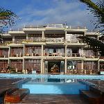 Beautiful beach front hotel on the Ecuadorian Pacific Coast