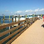 Ferry arriving at Cayo Costa