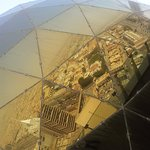 Riyadh Reflected in the Globe