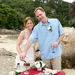 Wedding goodies!  Thanks Terri & Jim!