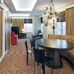 Newly renovated corner suite