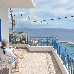 Utsikt från en av terrasserna