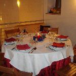 Tavolo riservato sul soppalco