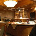Saladbar in restaurant
