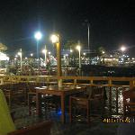 A view towards other piers.