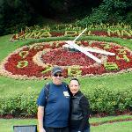 The flower Clock in Vina del Mar