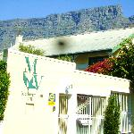 Medvilla in Tambourskloof at the foot of table mountain