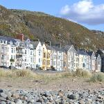 Guest Houses from the beach