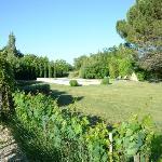 Garten und Schwimmbecken