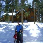 Front of Bear Cabin in Breckenridge CO