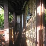 pasillo del area de habitaciones