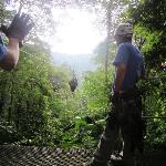 Monterverde zipline - longest one 1km