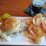 Pulled Pork Sandwich-Blue Point in Duck, NC