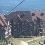 Hotel from the chair lift