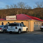 Romano's is easy to find, on the south side of Park Avenue in Norton, VA.