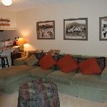 Sample 1 bedroom living room photo