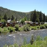 Cabins on Taylor River