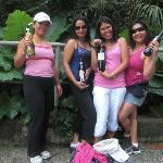 Wine taste extremely fantastic especially after the run!