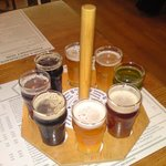 A selection of beer.