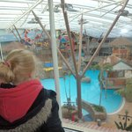 overlooking the waterpark