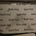 Funny Little Paper Bathmat!