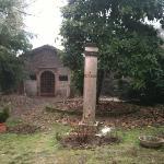 Il giardino magico: scorcio di un giardino interno alla struttura.
