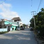 The little street the inn is on