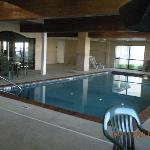 the pool was beautiful