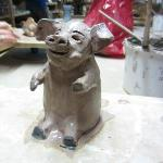 "Kinsale Pottery & Arts Centre ""This little piggy is off to the kiln"""
