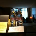 The only hotel who provide complimentary imported mineral water!