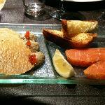 entrée de saumon