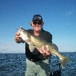 "Released 28'"" Walleye"