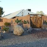 The historic adobe, all renovated and charming