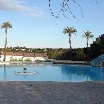 Panorama of La Palmeraie pool