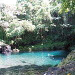 Crystal clear deep Afu Aau swimming hole